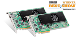 Matrox Mura IPX Series wins Best of Show Award at InfoComm 2015