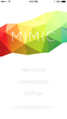 "New No-Cost App ""Mimic: The Game"" for Apple Watch and iPhone is a Fun, Addictive Spin-off of a Classic Favorite"