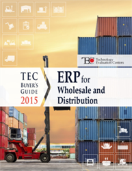 The TEC 2015 ERP Software Buyer's Guide for the Wholesale & Distribution industry