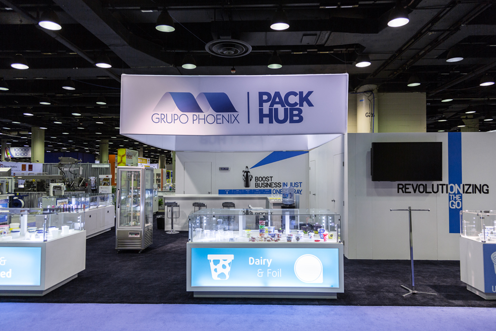 Absolute exhibits to build multiple exhibits at pack expo for Pool trade show las vegas 2015