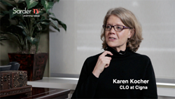 In an Interview with Sarder TV, Karen Kocher Chief Learning Officer Provides Inside View of Learning Department at Cigna