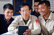 The widespread use of smart phones and the ability to create dual-language Khmer-English apps in Fulcrum has made training and implementation straightforward