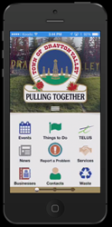 Drayton Valley Report a Problem Mobile Application