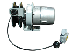 Explosion Proof Cord Reel with Tool Tap that provides 20 amps of continual service