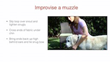 """Muzzling Lesson from """"Dog CPR, First Aid & Safety for Pet Pros & Dedicated Owners"""""""