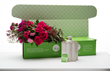 Fleurish's new Raspberry Sunrise shippable DIY Fleurkit