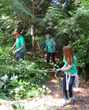 Seattle Scientology Environmental Task Force and The Way to Happiness volunteers celebrated World Environment Day with sleeves rolled up in a clean-up of lower Kinnear Park.