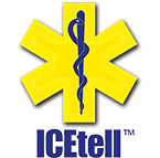 ICEtell high-visibility emergency ID