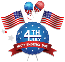 25% discount on 4th of July