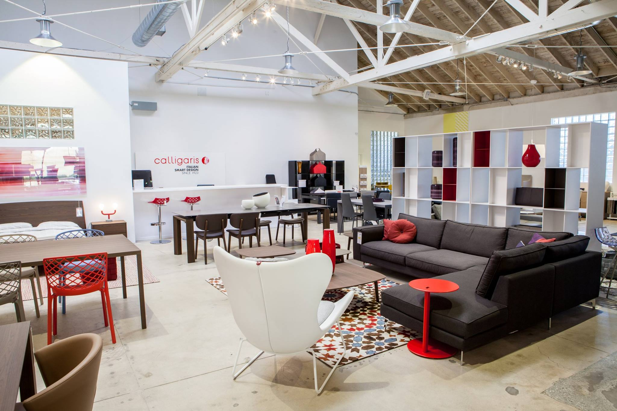 furniture modern los angeles showroom contemporary