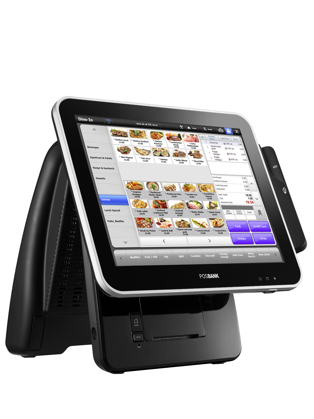 Posbank Launches High End Stylish All In One Pos System