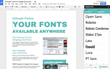 New 'Extensis Fonts' Panel Brings the Power of Typography to Google Docs