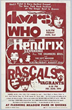 Avid Boxing Style Rock Concert Poster Collector From Vintage Rock...