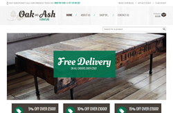 Oak and Ash Furniture Website