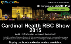 Stop by booth #4159 during Cardinal Healths RBC event