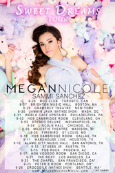 Megan Nicole Sweet Dreams Tour Dates