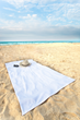 Towel invention for sun worshippers