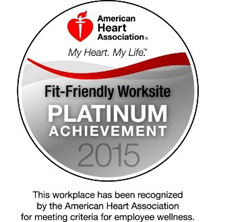 DB&A Recognized as an American Heart Association Fit-Friendly Worksite