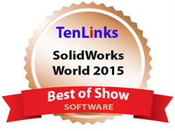 CETOL 6 Sigma Wins Bronze Best of Show at SOLIDWORKS World 2015