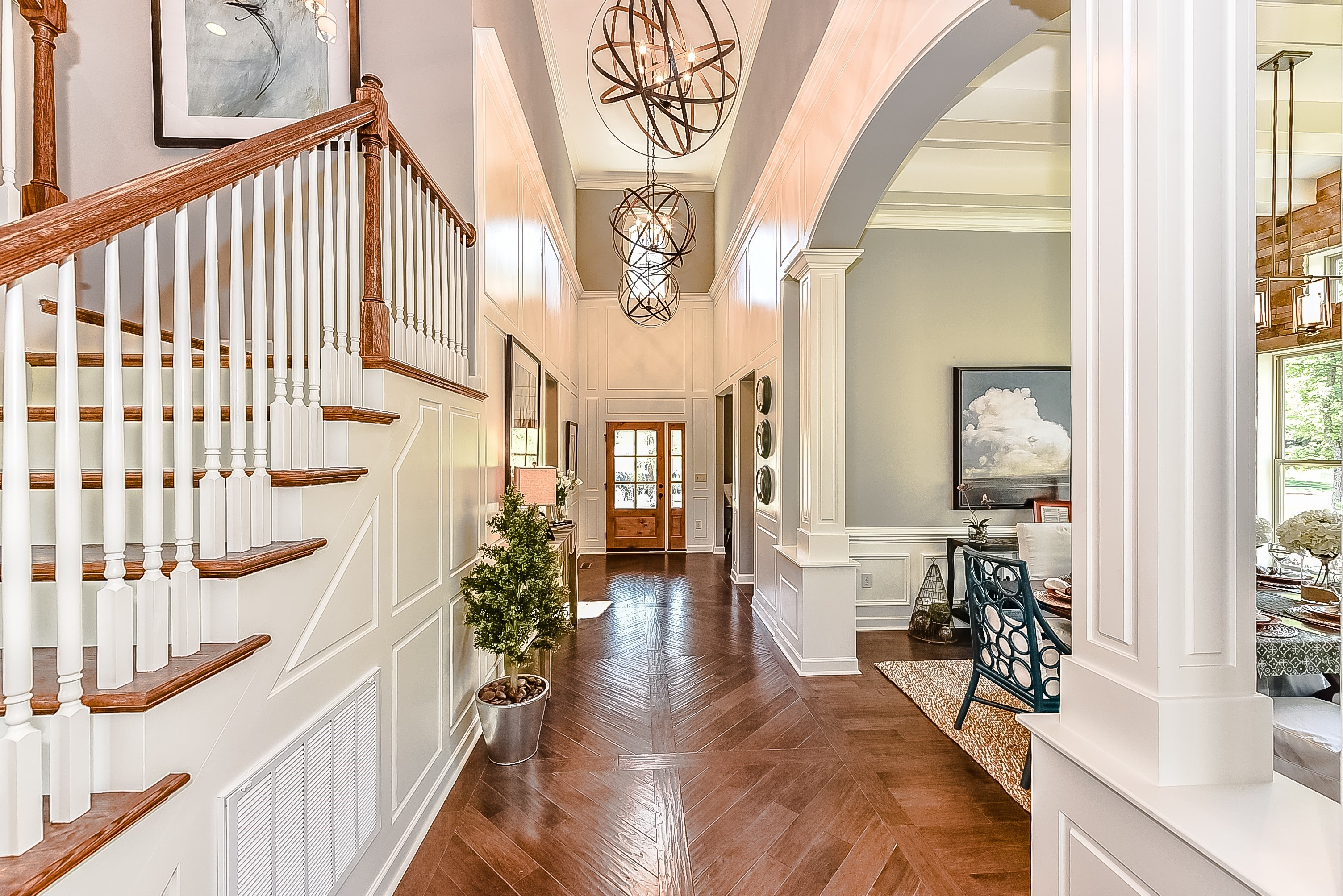 Model Home Foyer Pictures : Shea homes opens new model home in palisades neighborhood