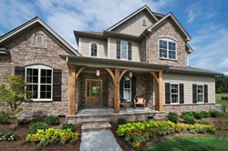 Shea Homes' Redwood Model at Palisades