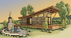 Wheelhaus tiny house Traverse Bay Resort