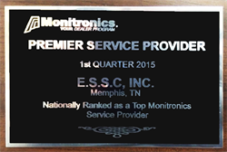 Top Provider Award Monitronics