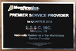 Electronic Security Specialists (E.S.S.C. Inc) Awarded Top Service Provider Award By Monitronics