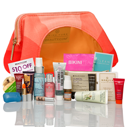 Exclusive Trina Turk Sunset Cosmetics Pouch Now Available on Beauty.com