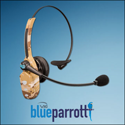 BlueParrott B250-XT+ Wounded Warrior Project Edition Camo Headset