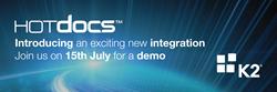 HotDocs and K2 integration