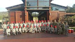 Troops at TERI Campus of Life