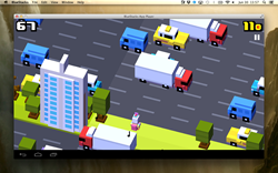 Crossy Road on The Best Android Emulator for Mac