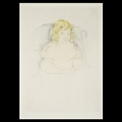 "MARY CASSATT ""Sara Smiling"" Drypoint print in colors Estimate:  $1,500 / 2,000"