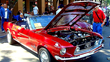 Classic Car Show on the Historic Santa Fe Plaza on 4th of July