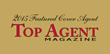 Katerina Brosda featured on the cover of the South Florida edition of Top Agent Magazine