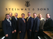 Liberty University School of Music faculty met with Steinway & Sons leaders at the piano manufacturer's selection room last week in New York.