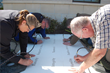 MidwayUSA Employees Engrave 9 Company Values into Campus Sidewalks