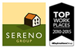 Sereno Group Named Bay Area Top Workplace for the Sixth Consecutive Year