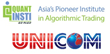 Asia's largest algorithmic trading education institute partners with...