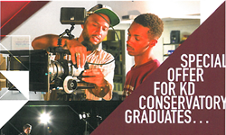 Exclusive Offer for KD Conservatory Graduates