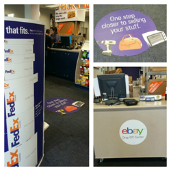 FedEx teams up with eBay with dropoff locations