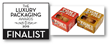 Tom's Pies - Finalist at Luxury Packaging Awards 2015