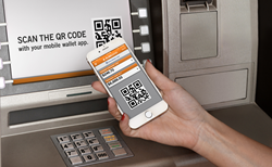 Allows customers to withdraw cash using their smart phone. No card is required.