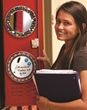 Trim-A-Rim Mini locker mirrors and magnetic whiteboards brighten up any school locker.