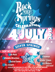Silver Springs State Park and Bobby Genovese Host 'Rock the Springs' 4th of July Event to Benefit Local Veterans Agency