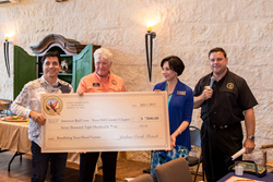 Joshua Creek Ranch donation to American Red Cross - Hill Country Chapter benefitting Texas flood victims