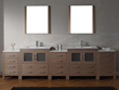 Dior 118″ Double Sink Bathroom Vanity Set in Dark Oak KD-700118-C-DO from Virtu USA