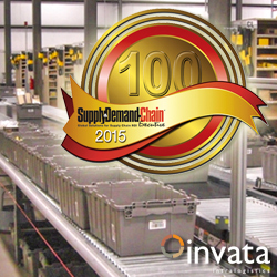 Invata Intralogistics named in top 100 companies for 2015 best projects.