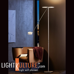 New Holtkoetter LED Torchiere Floor Lamps now available at LightKulture.com